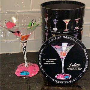Lolita Martini Glass Collectibles
